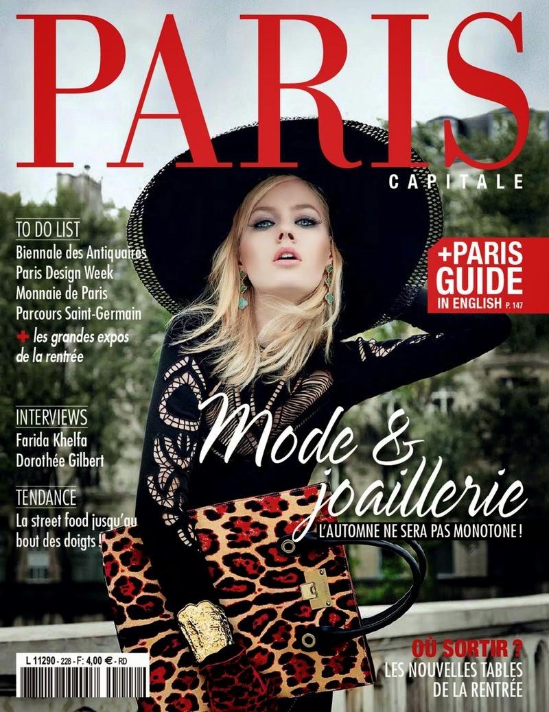 Hannah Grace Brzezinski - PhotoShoot for Paris Capitale Magazine, France, September 2014