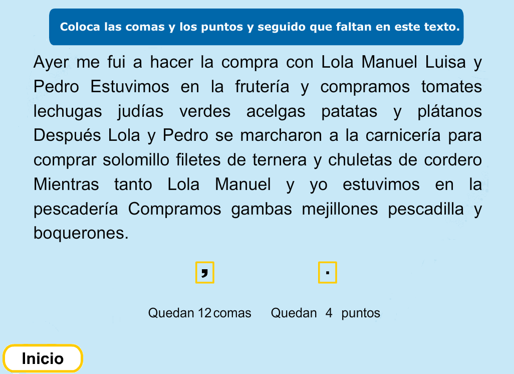 http://www.primerodecarlos.com/TERCERO_PRIMARIA/noviembre/Unidad5/actividades/lengua/la_coma/indice.swf