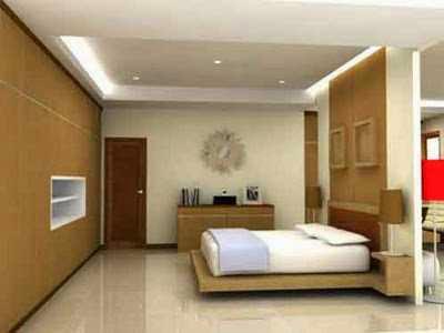 kamar tidur utama modern