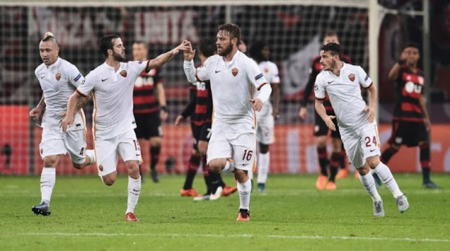 AS Roma must again postponed the victory in the Champions League.