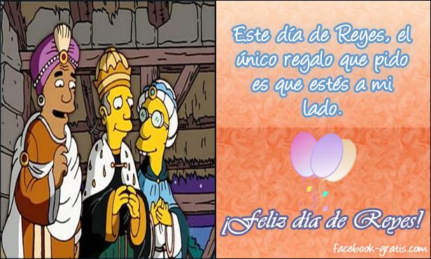 Imagen del día de Reyes con frase