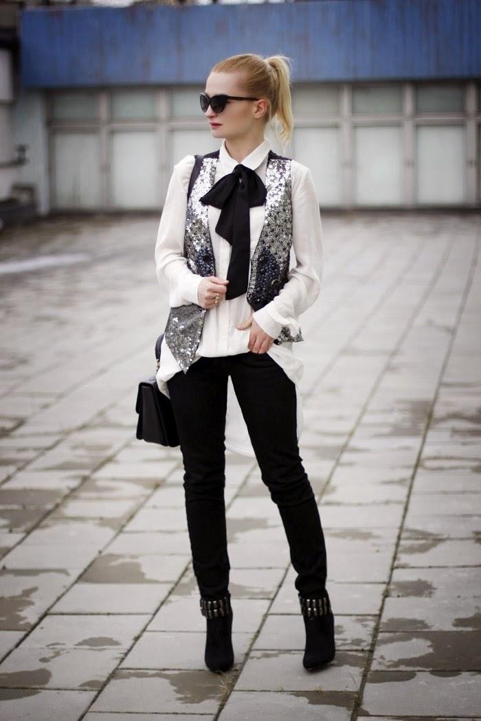 Sequin Vest