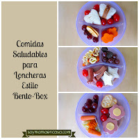 comidas saludables bento box