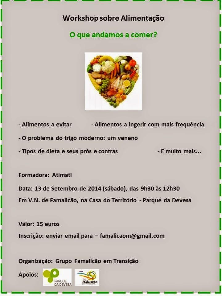 Workshop sobre Alimentação
