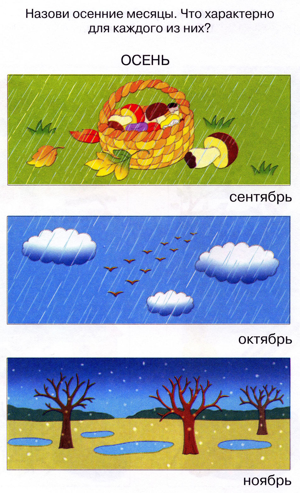 Елькина Анджела Валентиновна  Осень золотая в гости к нам