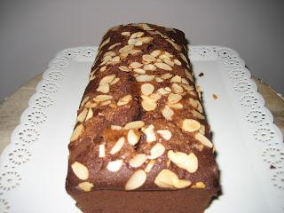 Bizcocho de chocolate y manzana, receta