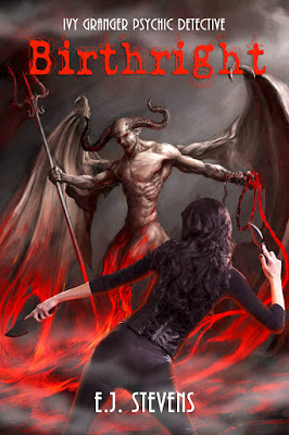 Birthright by E.J. Stevens Ivy Granger urban fantasy series