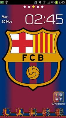 Barcelona Theme Apk