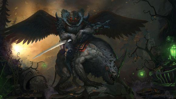 Pavel Romanov cynic-pavel deviantart ilustrações fantasia Darklord