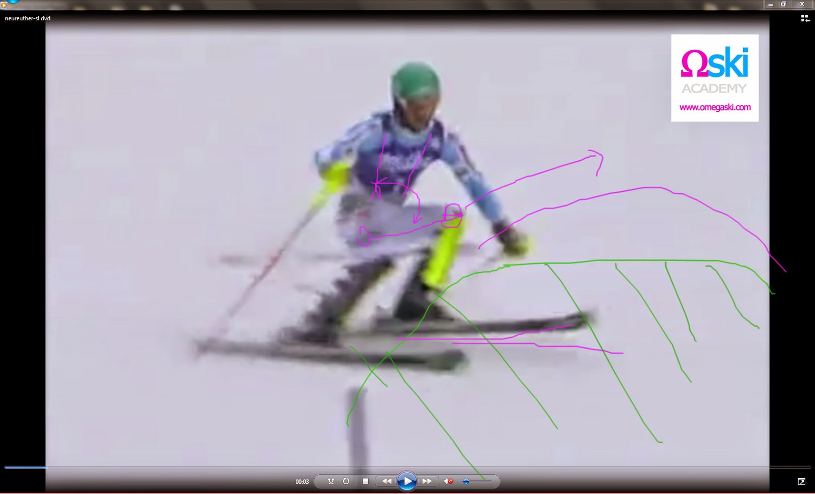 инструктор по горным лыжам Штубай Нойштивт Инсбрук