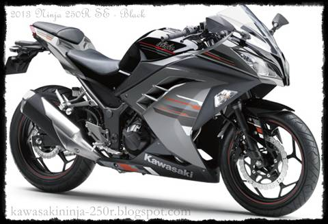 2013 Ninja 250R Black Color Special Edition