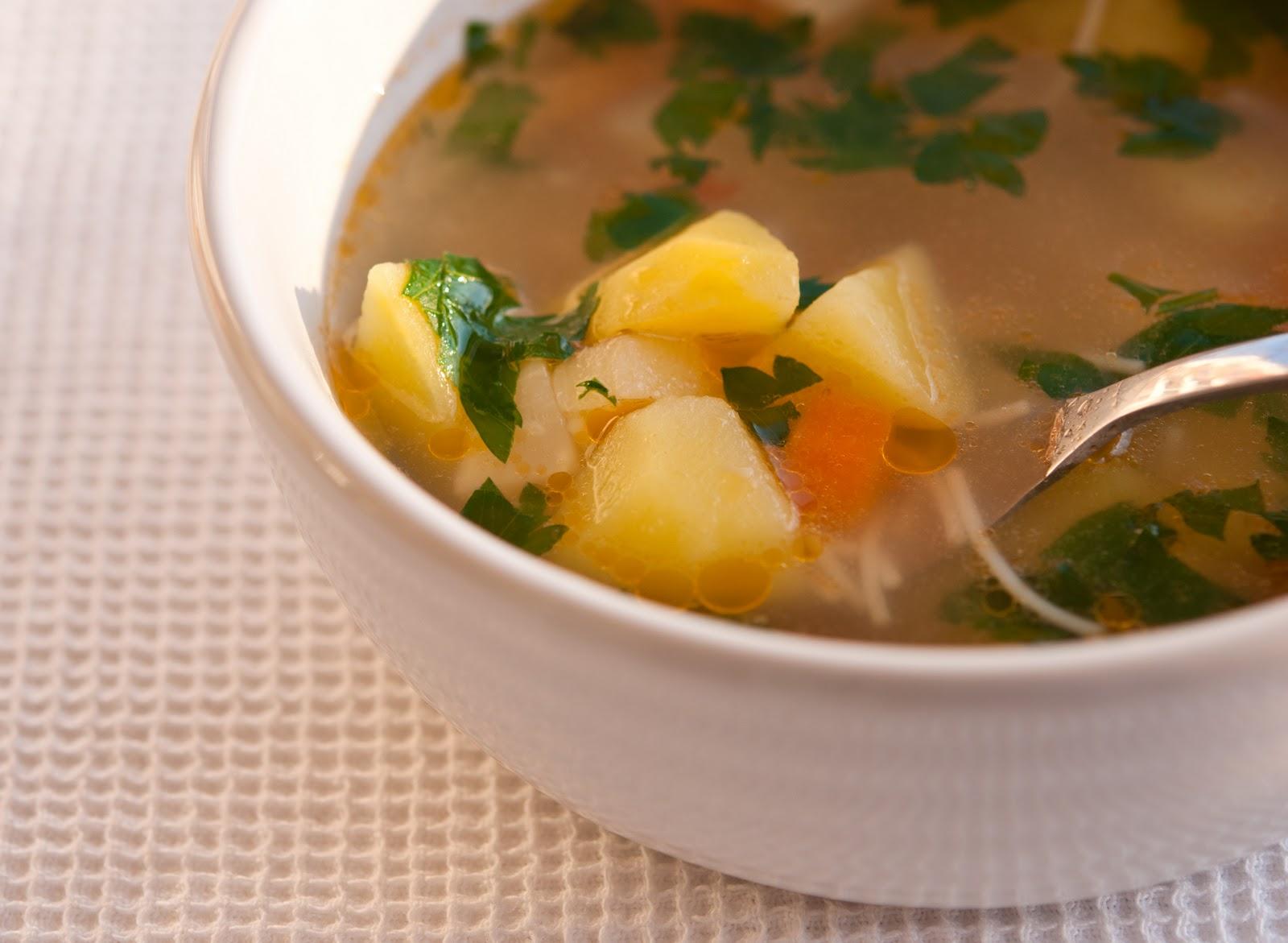 Пъстра зеленчукова супа