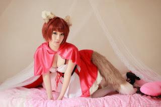 Animal Hood Wolf A Eida cosplay by Koyuki 4