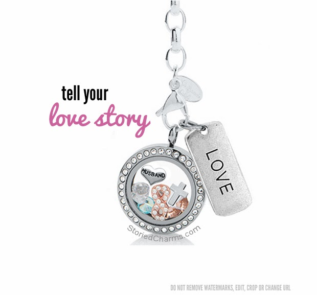 What's Your Love Story? Tell it with Origami Owl Living Lockets from StoriedCharms.com