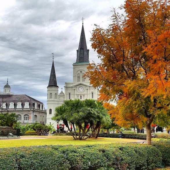 Jackson Square in Fall