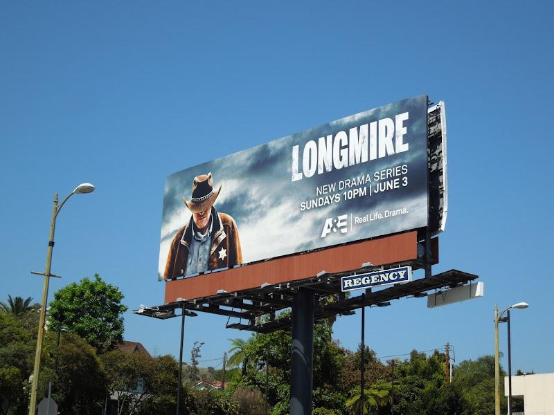 Longmire season 1 bilboard