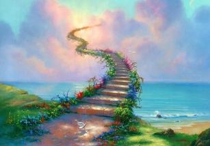 一般的坐禪,即使坐破了蒲團,還是不能成就,原因是「誰在那裡坐禪」?是「人」在坐禪,不是「靈性」。因為你在那裡坐禪,沒有進入禪定,你不瞭解進入禪定之後的那個精神體的世界。禪定是為了讓你的精神體脫離地球時空,進入另一個光明的世界。所以你在禪定的時候,要保有一顆什麼心?很法喜的心。因為我們要回家了,要見到本來的真面目和本來的風光。什麼是本來的真面目?就是自己的真心,是真正的自己,就是佛性。要見到自己的佛性,要回到我們佛性的家,回到本家,那是多麼高興的一件事情!所以我們禪定的時候,不要一付很痛苦的樣子,應該是很高興、微笑的表情,那種很期待,期待要回家的心情,就像我們出國很多天,要回家見自己的親人一樣,那麼喜悅,那麼高興。所以,只要看你們的表情,就知道坐得如何。