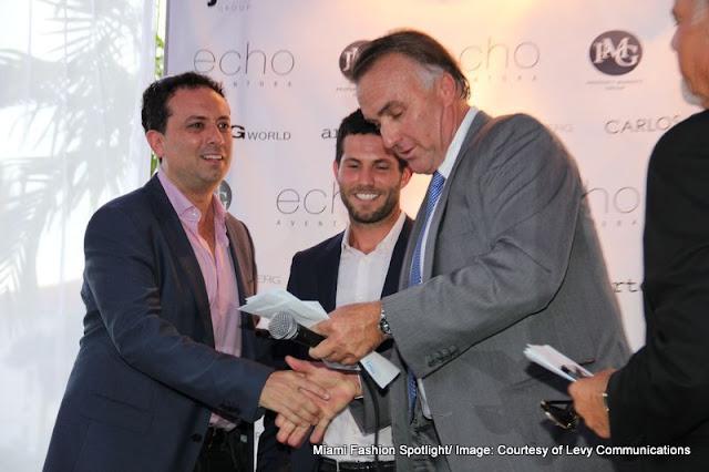 Aventura's most prestigious property Echo Aventura hosted Summer Soiree