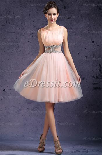 Короткие и пышные платья
