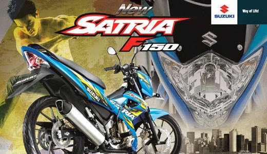 Harga Kredit Suzuki New Satria Fu 150 Lengkap Terbaru 2014