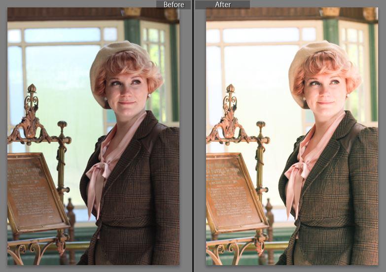 Finding Femme's free lightroom preset to make colours pop.