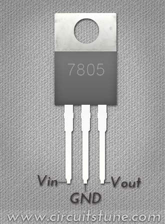 7805 Voltage Regulator Circuit Circuit Diagram Blog