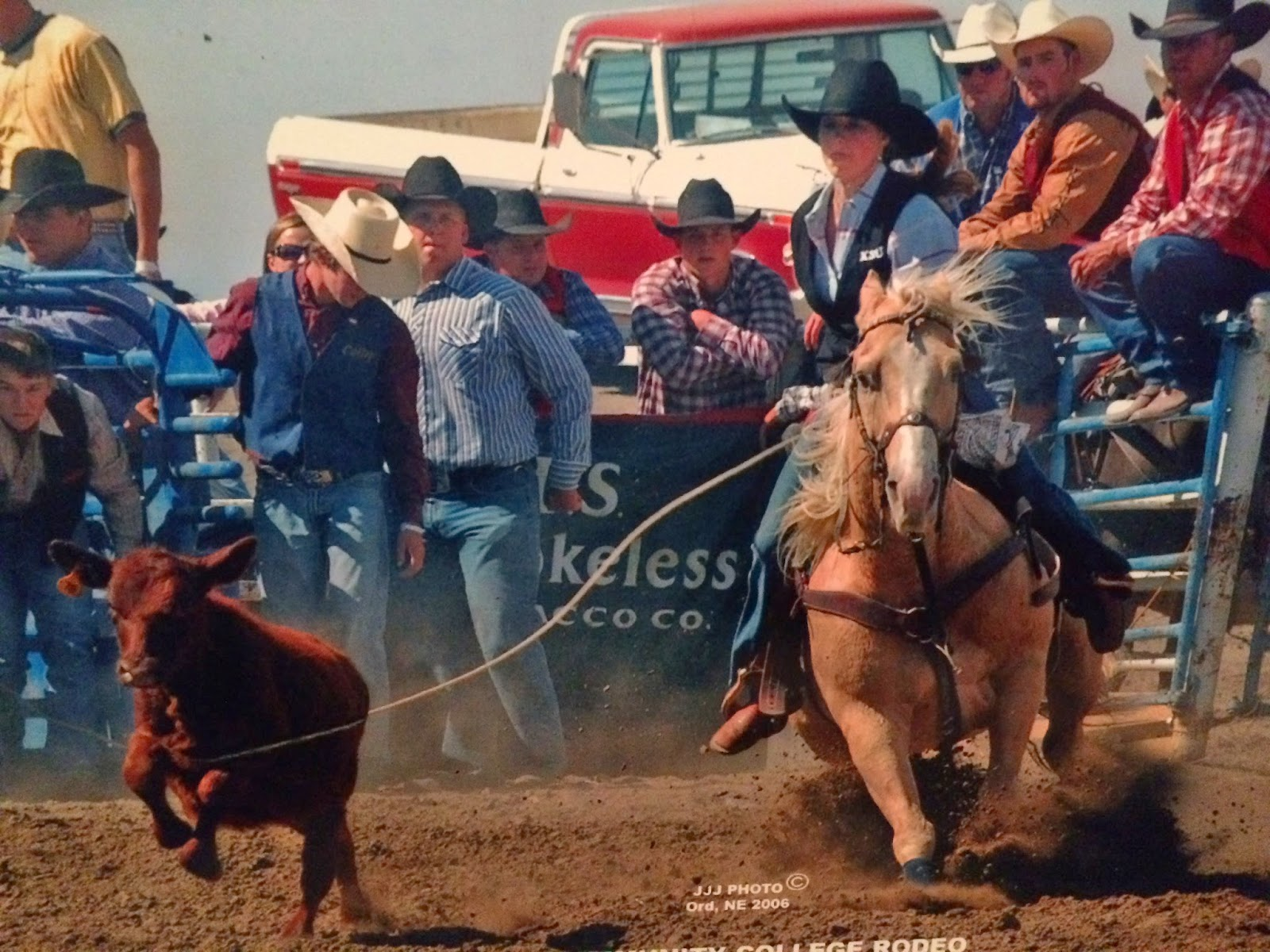 Breakaway roping at Colby, KS