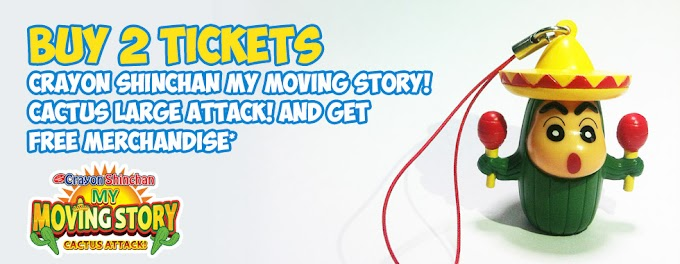 Gratis Merchandise Sinchan Untuk Pembelian 2 Tiket Film Sinchan Terbaru
