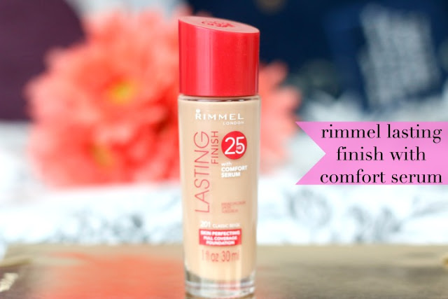 rimmel lasting finish review