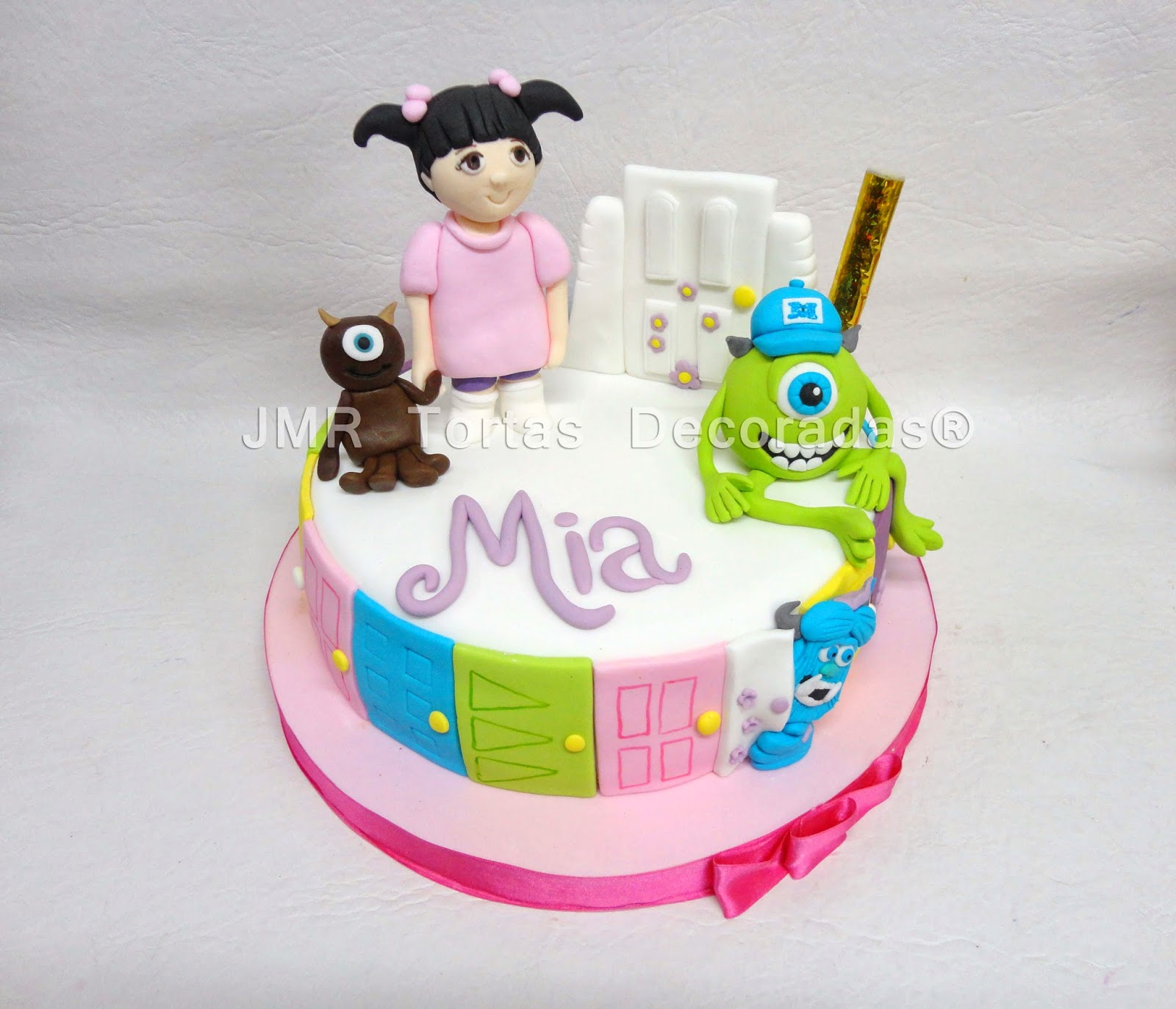 Monsters Inc | JMR Tortas Decoradas