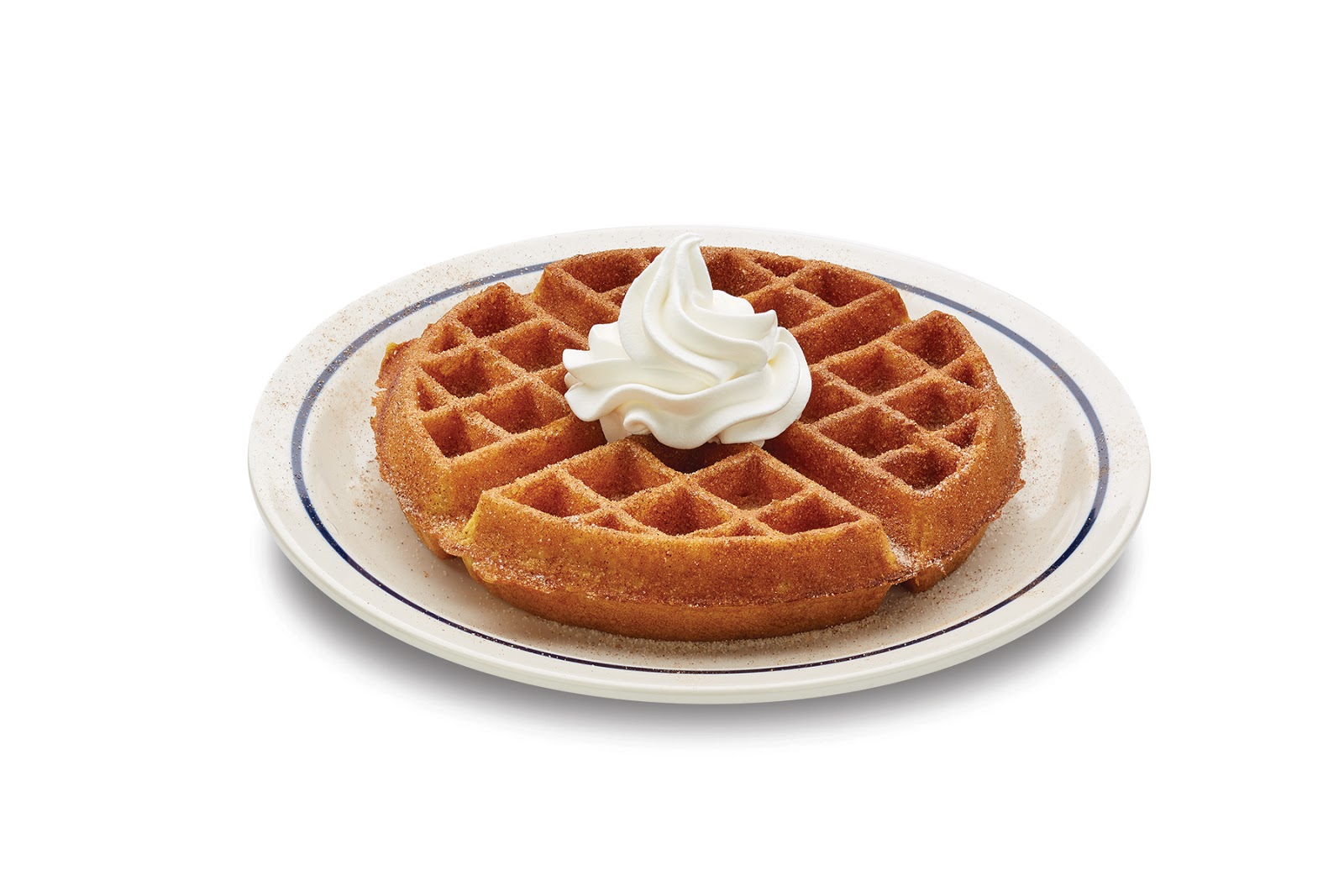 NEW Pumpkin Spice Waffle - Our Belgian waffle made with real ...