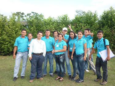 Integrantes de la Red de Gestores Ambientales