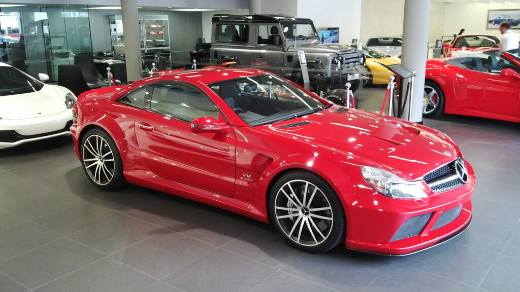 Mercedes Benz Sl65 Amg Black Series In South Africa