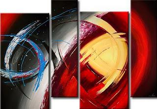 Pintura Abstracto Moderno