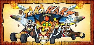 لعبة سباق سيارات كارتينغ Tiki Kart 3D