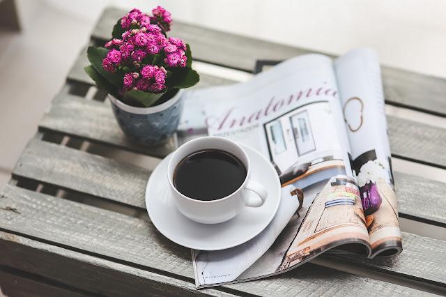 coffee magazine pretty