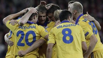 BATE Borisov vs Valencia