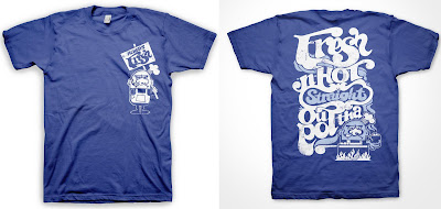 The Nitty Gritty Series by Grits - Fresh-N-Hot T-Shirt Front & Back