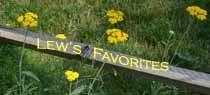 Lew's favorites