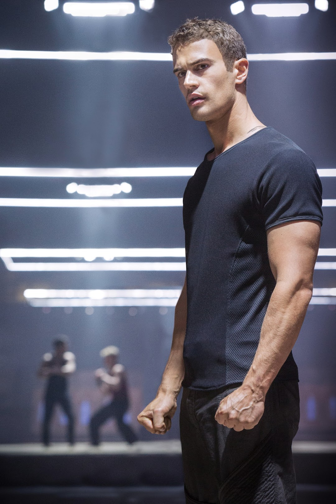 Theo James as Four aka Tobias Eaton