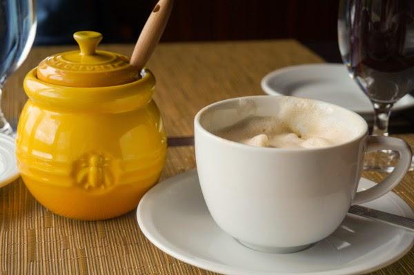 cappuccino and salish honey