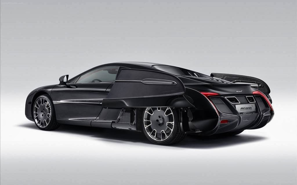 McLaren X-1 Concept Car - Stylish Wallpapers