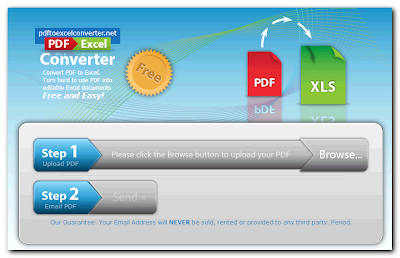 Pdf to excel conversion tools online- pdftoexcelconverter.net