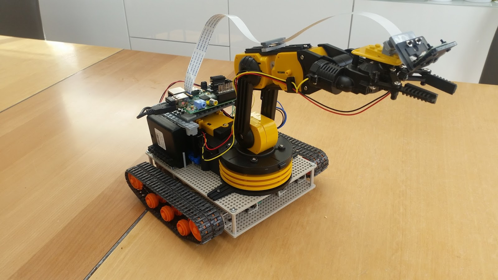 raspberry pi robot projects