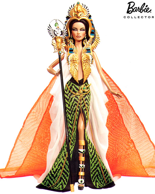Barbie Doll as Cleopatra
