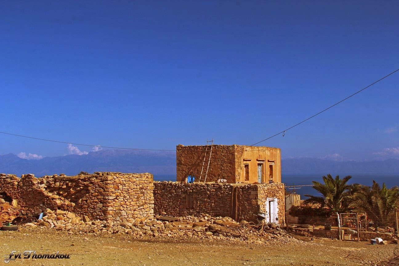 Two-storey house, Ambelos, Gavdos - Διώροφο σπίτι, Άμπελος, Γαύδος