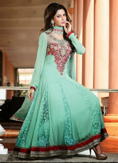 Latest Churidar Suits for Girls