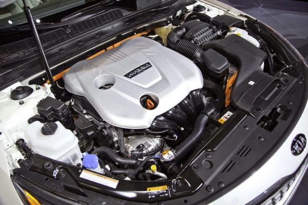 2016 Kia Optima Engine