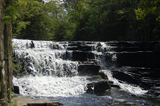 Black Slate Falls and Quartzite Falls