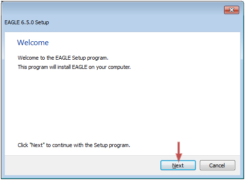eagle how to run error file